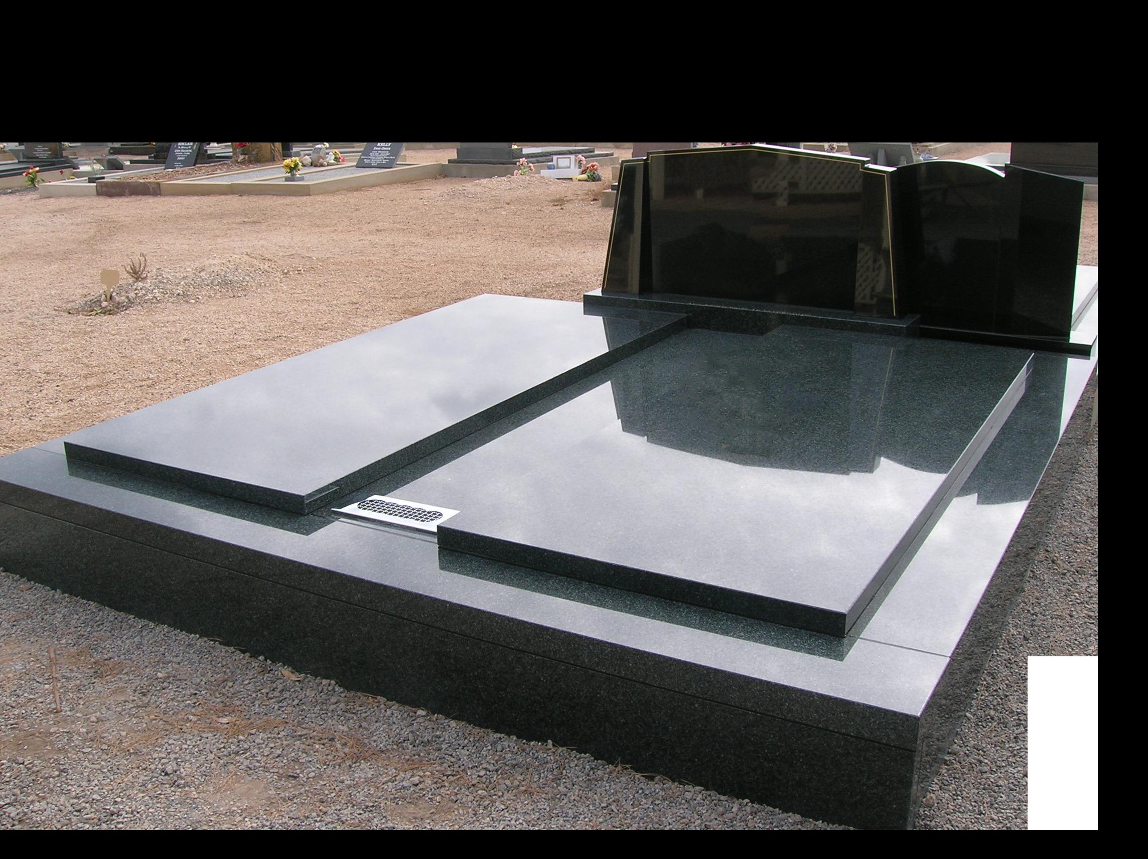 Double plot Memorials from Goerecke Memorials